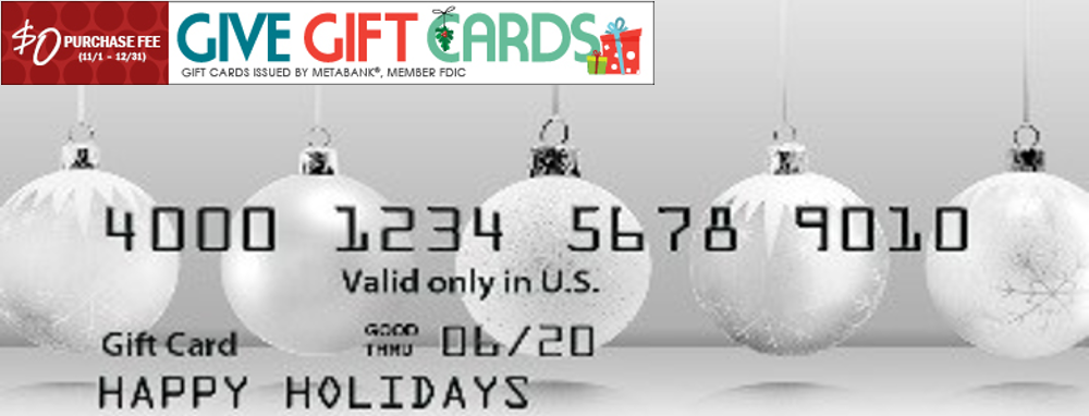 ABFCU Gift Cards