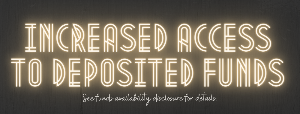 Funds Availability Disclosure