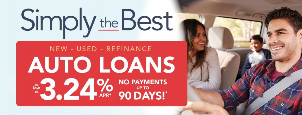 Auto Loans - No Payments for 90 days