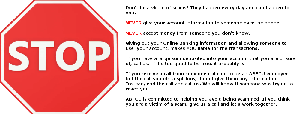 Dont be a victim of Scams