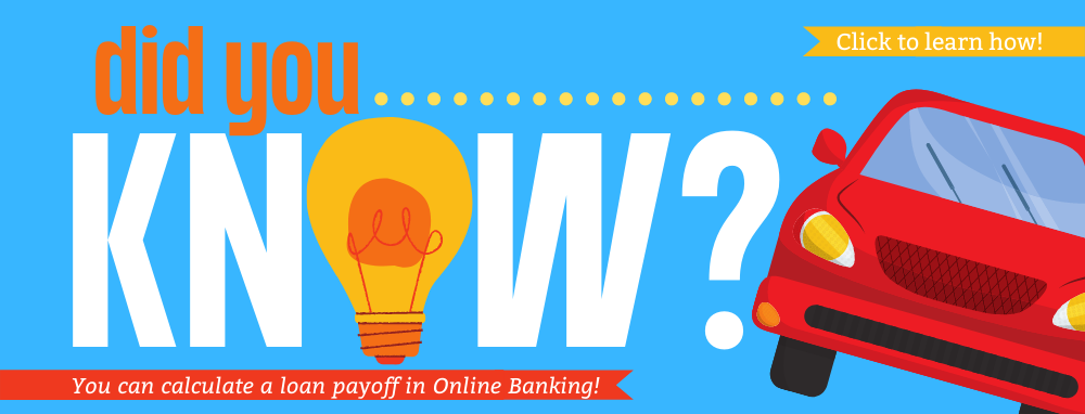 calculate payoff in online banking